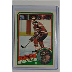 1984-85 O-Pee-Chee #121 Pat Verbeek RC