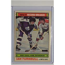 1977-78 O-Pee-Chee #215 Ian Turnbull RB