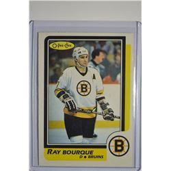 1986-87 O-Pee-Chee #1 Ray Bourque