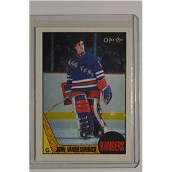 1987-88 O-Pee-Chee #36 John Vanbiesbrouck