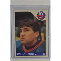 1985-86 O-Pee-Chee #122 Kelly Hrudey RC
