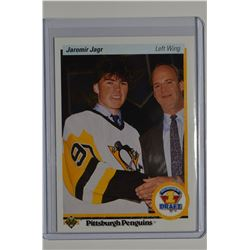 1990-91 Upper Deck #356 Jaromir Jagr RC