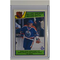 1983-84 O-Pee-Chee #212 Wayne Gretzky RB