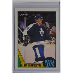 1987-88 O-Pee-Chee #243 Vincent Damphousse RC