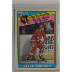 1984-85 O-Pee-Chee #385 Steve Yzerman LL