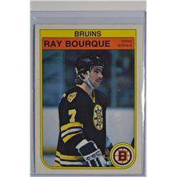 1982-83 O-Pee-Chee #7 Ray Bourque