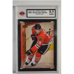 2007-08 Upper Deck #462 Jonathan Toews YG RC