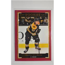 2017-18 O-Pee-Chee Glossy Rookies Red #R4 Charlie McAvoy