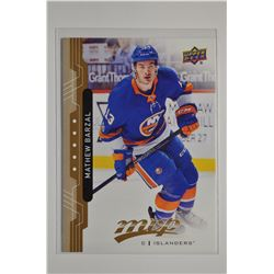 2018-19 Upper Deck MVP #207 Mathew Barzal