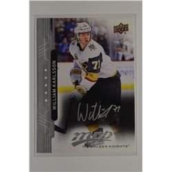 2018-19 Upper Deck MVP Silver Script #153 William Karlsson