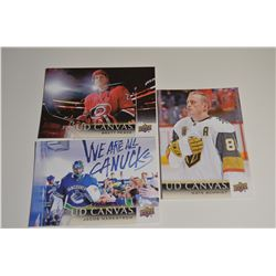 2018-19 Upper Deck Canvas - 3 Lot