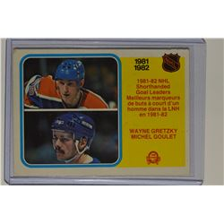 1982-83 O-Pee-Chee #237 Wayne Gretzky/Michel Goulet LL