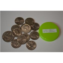 US Half Dollars + $1