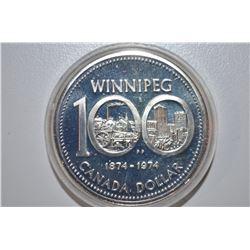 1974 Canadian (Winnipeg) Dollar