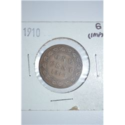 1910 Can 1-Cent
