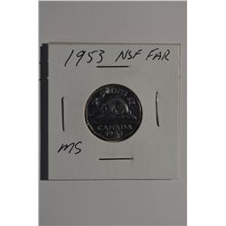 1953 NSF Can 5-Cent