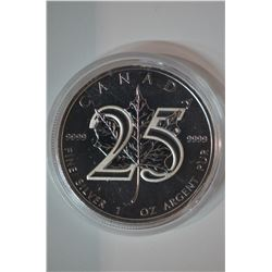 1oz Silver 5-Dollar Coin
