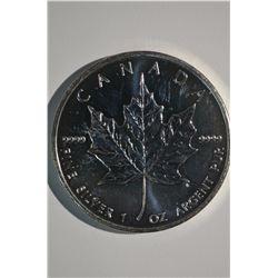 1oz Silver 5-Dollar Coin