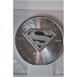 1oz Silver (Superman) 5-Dollar Coin