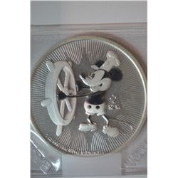 1 oz. Mickey Mouse Silver Coin