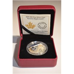 2015 $10 Silver TML Coin