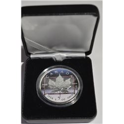2014 1oz Silver Maple Leaf – Color Hockey Edition