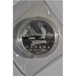2015 Canada $50 Beaver