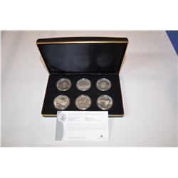 Vintage Canadian Silver Dollar Collection