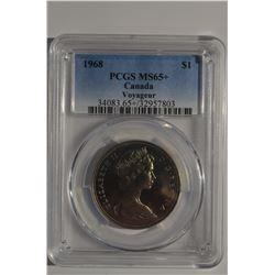 1968 Canada $1 - PCGS MS65+