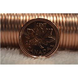"2012 BU Canadian 1-Cent - ""Last Penny"" Roll"