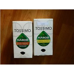 TASSIMO COFFEE CUPS - 7 SWISS HAZELNUT & 7 BREAKFAST = 14 TTL