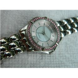 WATCH - PINK RHINESTONES