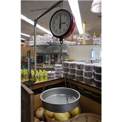 Chatillon Produce Scale, 20-lb Capacity
