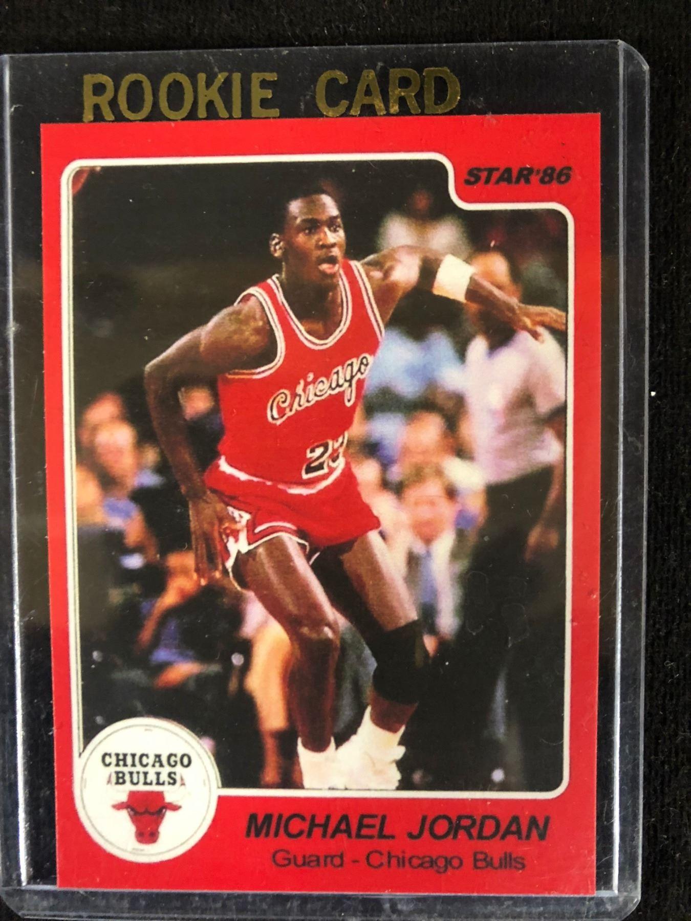 1986 Star 117 Michael Jordan Rookie Card