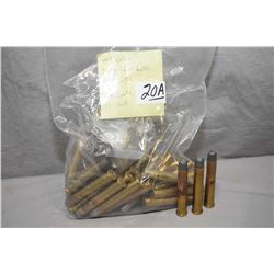 Bag Lot of Ammo .405 Win Cal : 39 Rnds Loaded - 11 Brass -