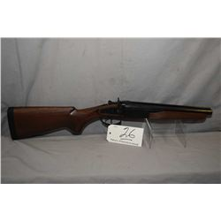 Dominion Arms Model Outlaw .12 Ga 3  Magnum Side By Side Hammer Shotgun w/ 12  bbls [ appears excell