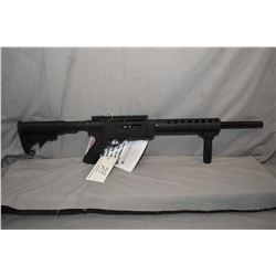 Ruger Model SR - 22 .22 LR Cal Mag Fed Semi Auto Rifle w/ 18 1/2  Tactical Solutions vented ported b