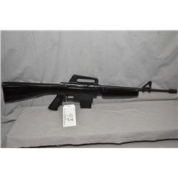"Squires Bingham Model M16R .22 LR Cal Mag Fed Semi Auto Rifle w/ 18 1/4"" bbl with muzzle break [ blu"