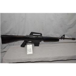 Squires Bingham Model M16R .22 LR Cal Mag Fed Semi Auto Rifle w/ 18 1/4  bbl with muzzle break [ blu