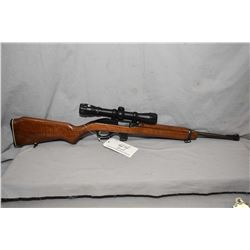"Marlin Model 989 M2 .22 LR Cal Mag Fed Semi Auto Carbine w/ 18"" bbl [ fading blue finish, rear sight"