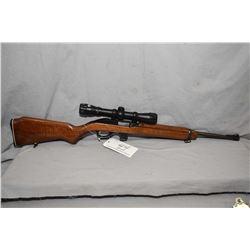 Marlin Model 989 M2 .22 LR Cal Mag Fed Semi Auto Carbine w/ 18  bbl [ fading blue finish, rear sight