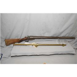 "Lot of Two Items : Navy Arms 4 x 15 Approx. 32"" Long Brass Scope w/ mounts and rings - Wilmot Gun Co"