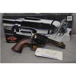 Restricted - Pietta Model Colt 1873 Single Action Army Reproduction Marked Thunderball .45 Colt Cal