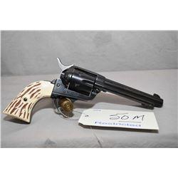 Restricted Sauer Model Western Six - Shooter .22 LR Cal 6 Shot Revolver w/ 140 mm bbl [ blued finish