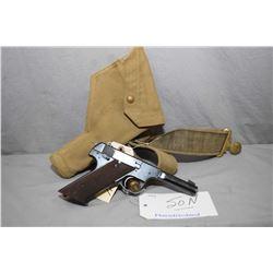 Restricted High Standard Model H - D Military .22 LR Cal 10 Shot Semi Auto Pistol w/ 114 mm bbl [ bl