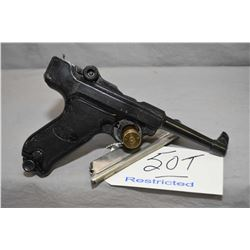 Restricted - Echasa Model Lur Panzer .22 LR Cal 10 Shot Semi Auto Pistol w/ 117 mm bbl [ blued finis