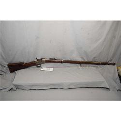 "Remington Model No. 1 Rolling Block 11.4 x 50 R Cal ? Full Wood Military Musket w/ 35"" bbl [ fading"