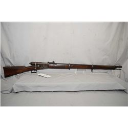 Swiss Vetterli ( WAFFENFARICK BREN ) Model 1869 .41 Swiss Rimfire Cal Full Wood Bolt Action Rifle w/