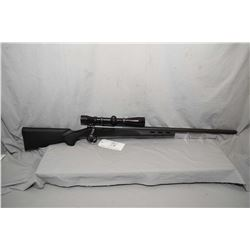 "Remington Model 700 .223 Rem Cal Bolt Action Rifle w/ 26"" heavy bbl [ blued finish, no sights, but h"