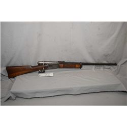 "Swiss Vetterli Model 1869 .41 Rimfire Cal Sporterized Rifle w/ 24"" bbl [ fading blue finish, barrel"